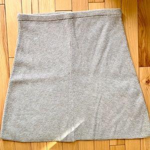 Aritzia Wilfred Free High Waisted Knit Skirt